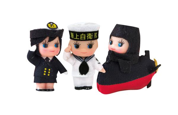 キューピーストラップ 潜水艦・セーラー・ウェーブ等