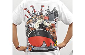 てつくじTシャツ